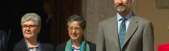 La Congregación Adoratrices es galardonada con el VI Premio Derechos Humanos Rey de España.