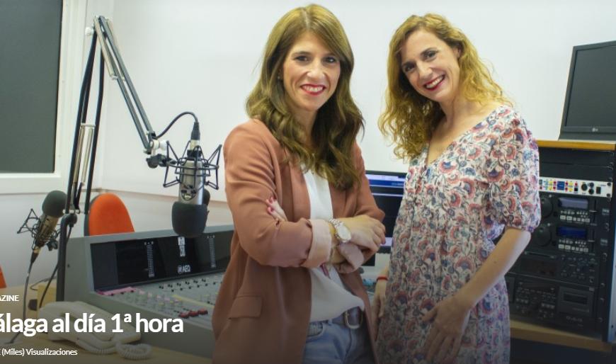 Intervención en el programa de radio Málaga al día 1ª hora