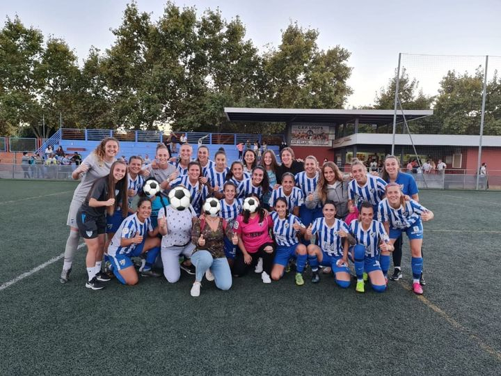 Visita al Málaga CF Femenino